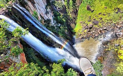 Salto do Apucaraninha, em Londrina