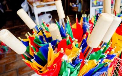Guarda-chuva típico do Carnaval de Olinda
