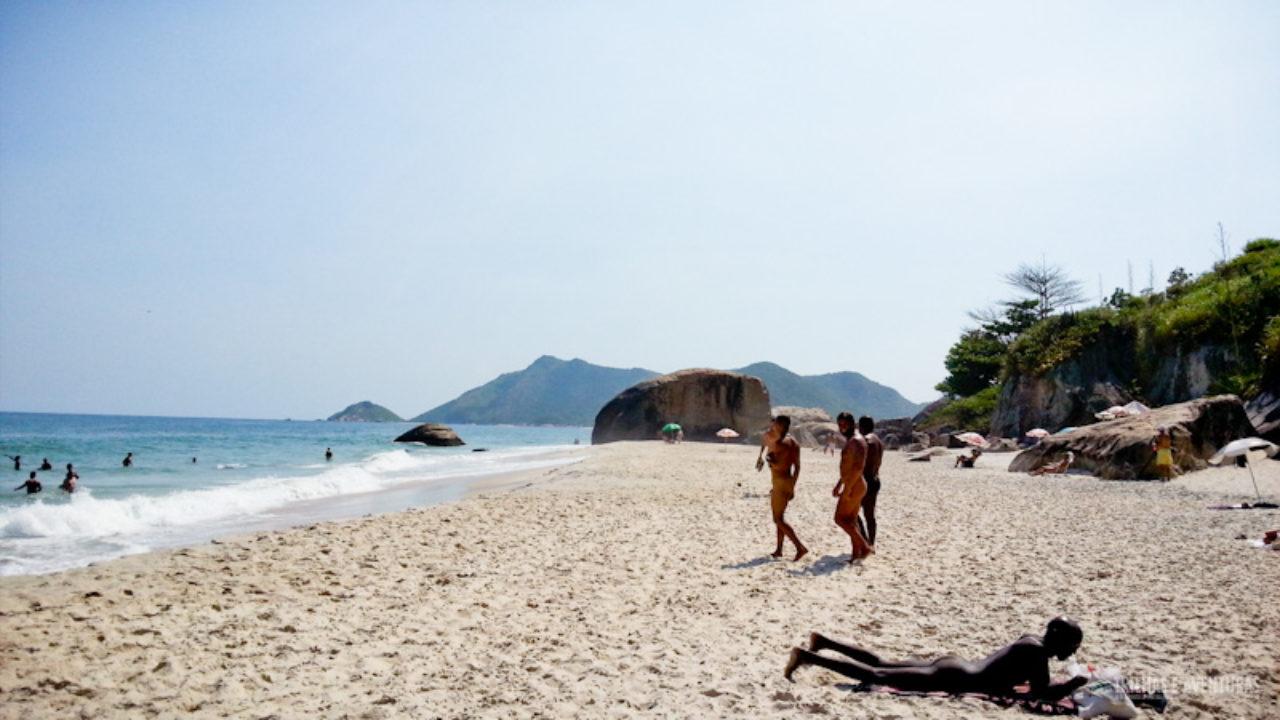 Pedras Altas, playa nudista en Brasil