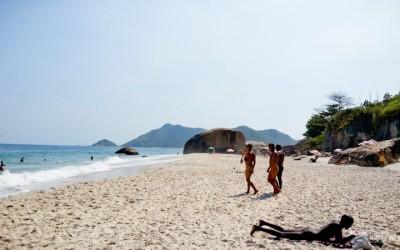 Abricó é uma das minhas praias de nudismo favoritas no Brasil