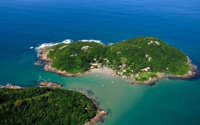 Ilha do Papagaio em Santa Catarina