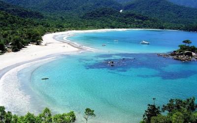 Praia dos Castelhanos, em Ilhabela