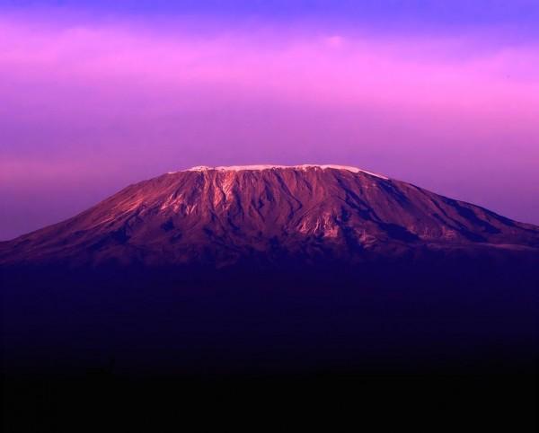 Fim de tarde incrível com vista para o Kilimanjaro