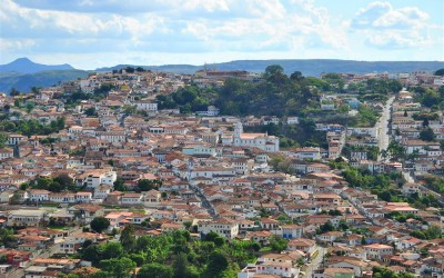 A Cidade História de Diamantina fica ainda mais linda do alto