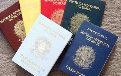 Passaporte colorido