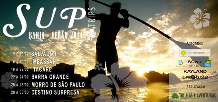 SUP Trip Bahia - Verão 2014