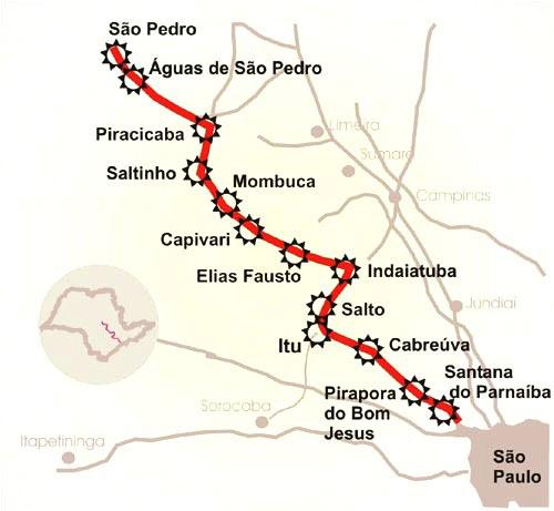 Caminho do Sol – o caminho de Santiago brasileiro