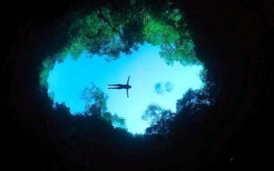 Lagoa Misteriosa em Bonito - MS (Foto: Marcelo Krause)