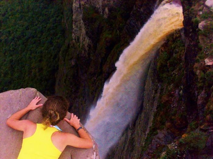 Cachoeira da Fumaça, na Chapada Diamantina - Foto: Airlene Motta