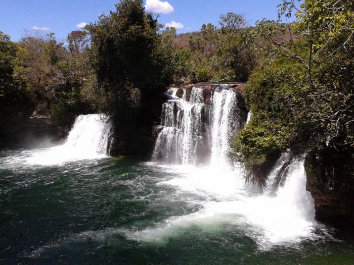 Cachoeira do Redondo em Barreiras - Foto: Joel Ramos