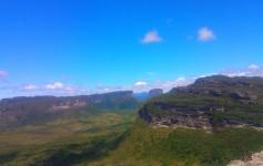 Vista panorâmica do Morro do Pai Inácio