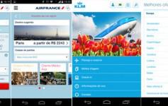 App de Viagem: Air France e KLM