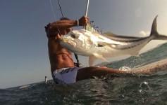 SUP Fishing na Costa Rica