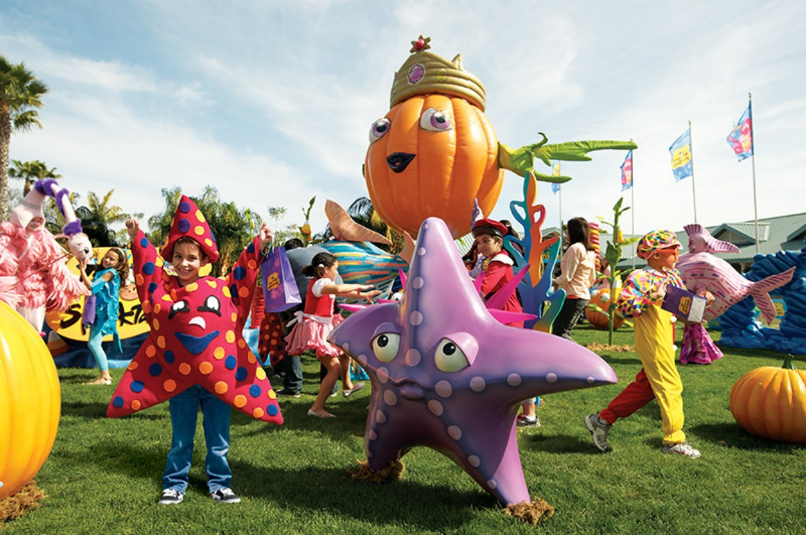SeaWorld Orlando apresenta o Halloween Spooktacular