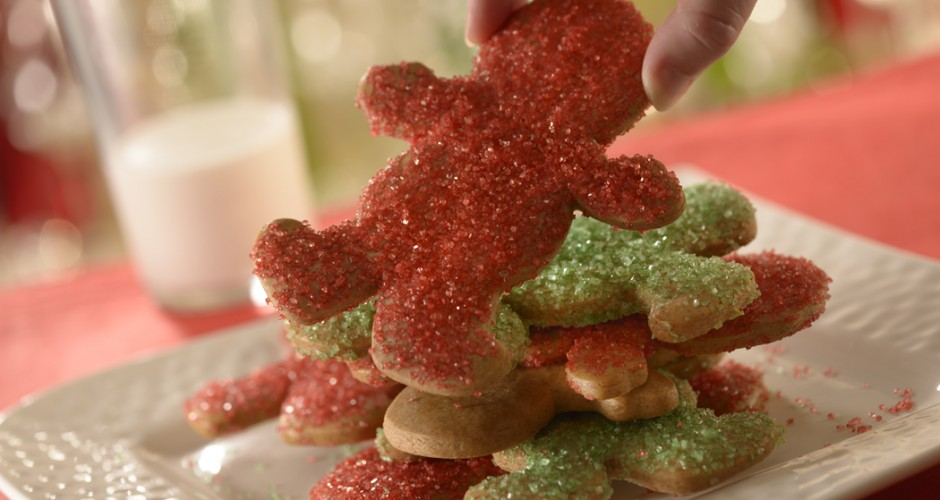Receita da Disney do Gingerbread Cookies