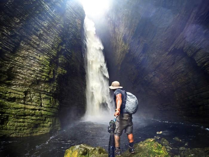 Cachoeira da Fumacinha - Chapada Diamantina - BA