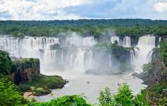 Cataratas do Iguaçu no Parque Nacional do Iguaçu