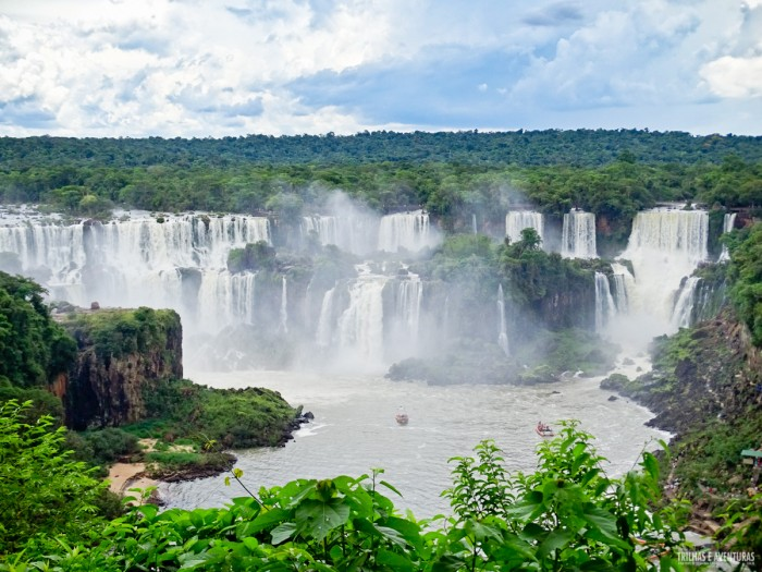 Cataratas do Iguaçu no Parque Nacional do Iguaçu