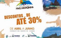 Promoção Mais Noronha 2015 - Descontos de até 30%