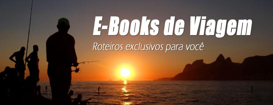 E-books de viagem - Roteiros exclusivos para você