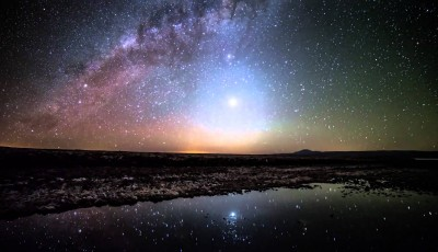 Céu de estrelas no Deserto de Atacama