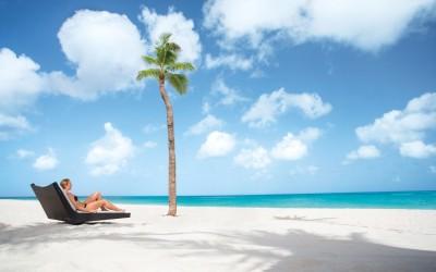 Aruba - Bem estar na praia de Manchebo