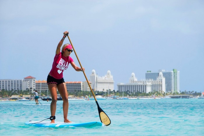 Stand up paddle em Aruba 3