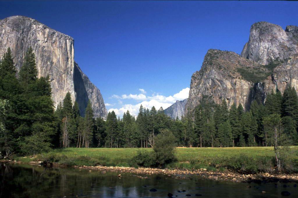 As cachoeiras e atrações do Parque Nacional de Yosemite