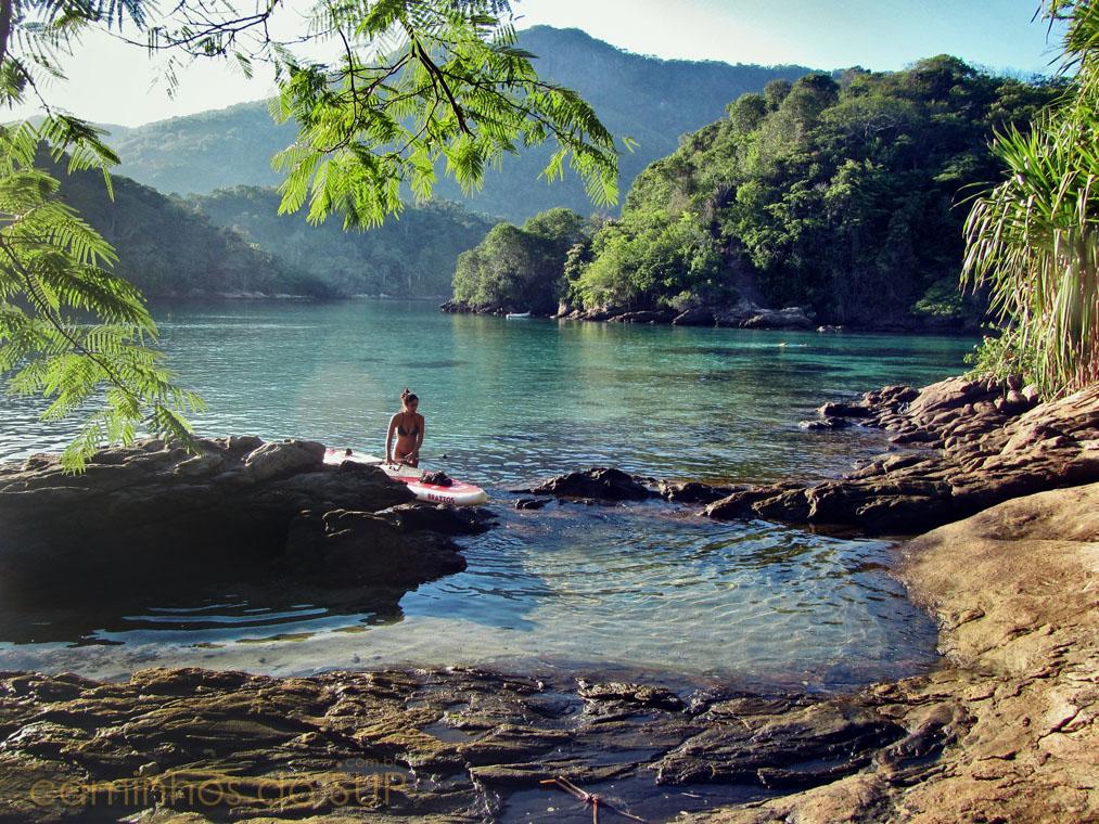 3 Travessias De Sup Stand Up Paddle Em Ilha Grande Rj