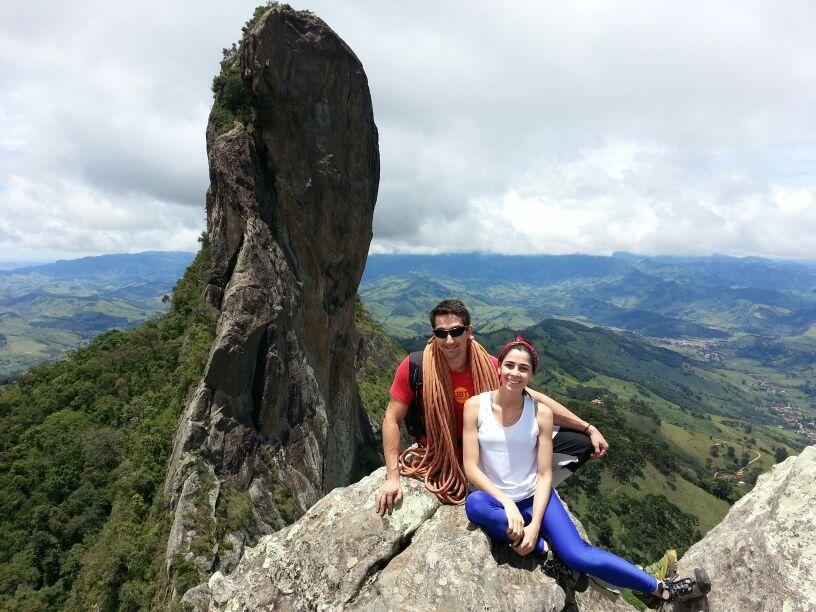 Trilha, escalada e muita aventura na Pedra do Bauzinho