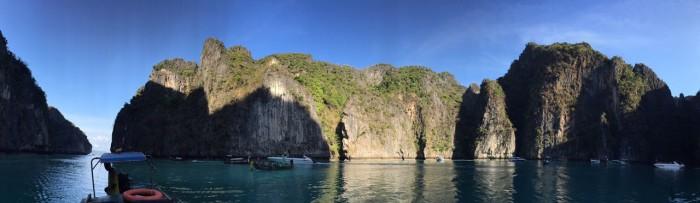 Panorâmica em Phi Leh Bay