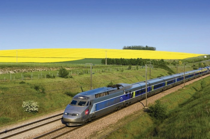 TGV na Franca - Rail Europe