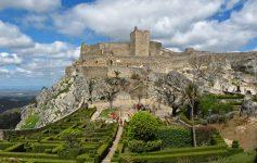 Castelo de Marvão no Alentejo