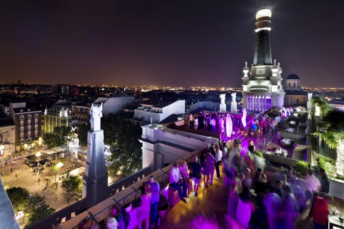 The Roof Terrace - Me Madrid