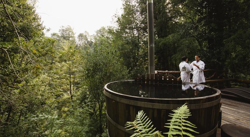 Nawelpi Lodge, um dos hotéis de luxo em Huilo Huilo - Chile
