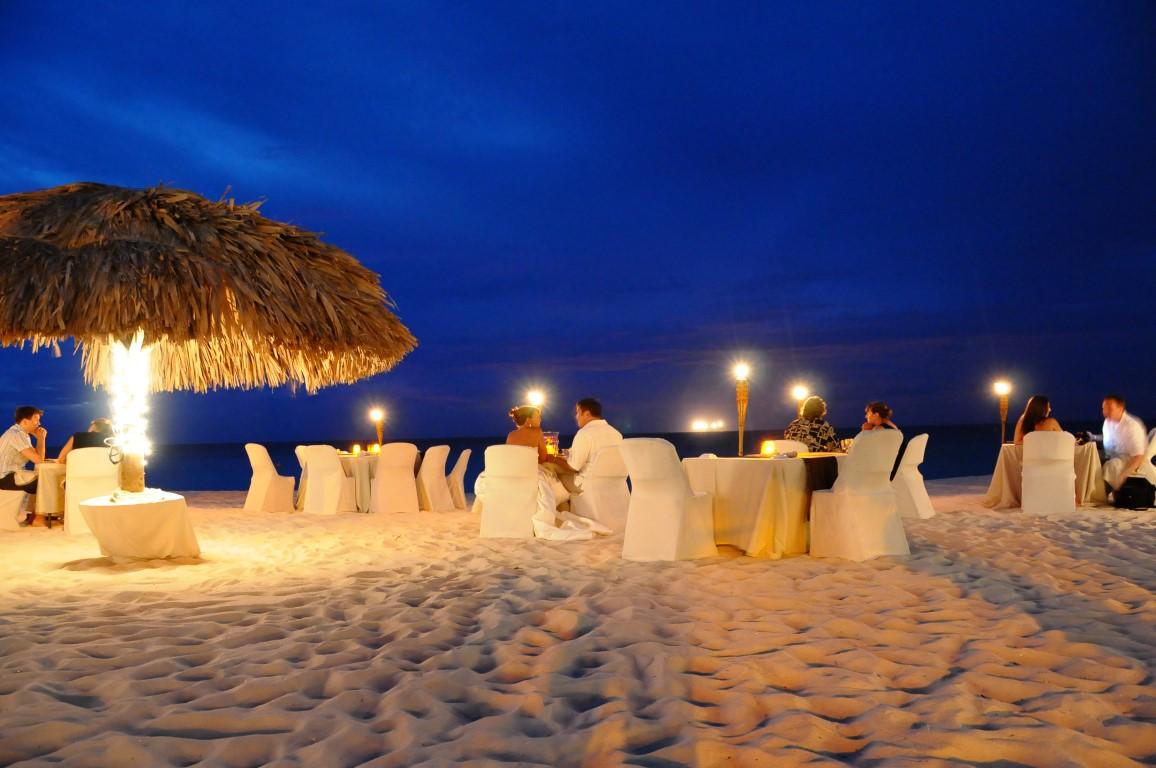 6 restaurantes para um jantar romântico em Aruba
