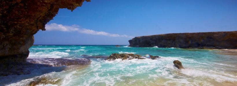 Boca Prins, uma das praias secretas de Aruba - Credito ATA