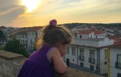 Pôr do sol em Évora