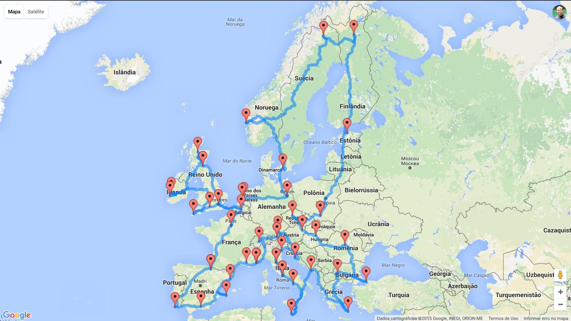 Roteiro perfeito para uma Roadtrip na Europa