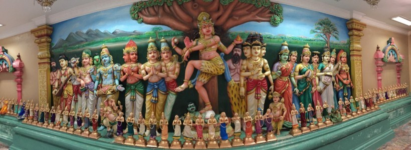 Simbologias Hindu em Kuala Lumpur