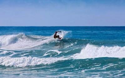 Oaxaca - Point de surf no México