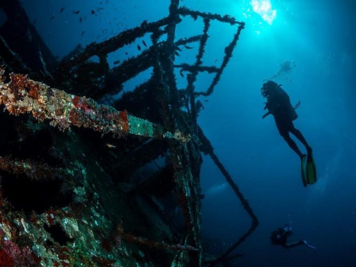 Mergulho em Tobago 1