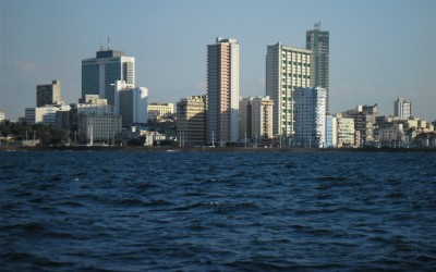 Cuba - Vista da baia de Havana