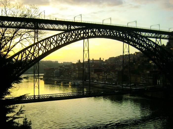 Ponte D. Luís I, Rio Douro e Ribeira do Porto