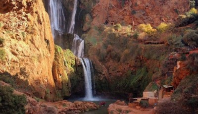 Cachoeira em Ouzoud - Marrocos