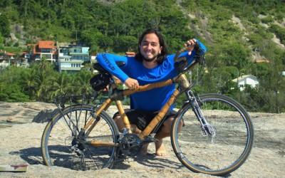 Roda Mundo - Ricardo Martins e sua bike de bambu, a Dulcinéia