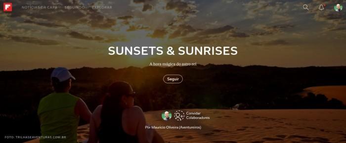 As melhores dicas de lugares para assistir o nascer e o pôr-do-sol