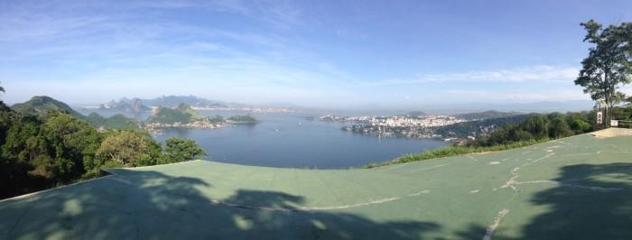 Vista Panoramica da rampa principal do Parque da Cidade