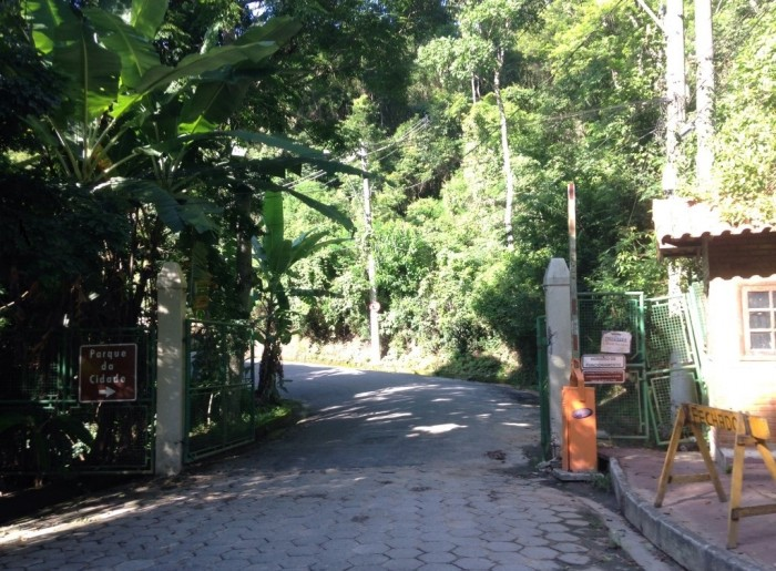 Parque da Cidade foto 15- Portão de Entrada do Parque