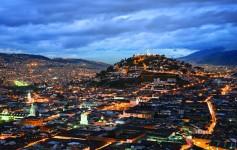 Vista do Centro Histórico de Quito - Crédito Quito Turismo